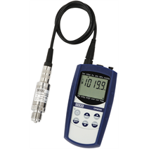 Hand-held pressure indicator for use in harsh condition