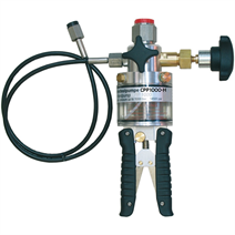 Hydraulic hand test pump