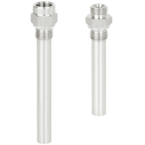 Screw-in thermowell (solid-machined)